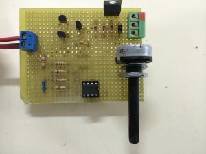 Circuito electronico genrador pulso PWM