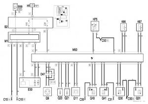 Circuito electrico del sistena