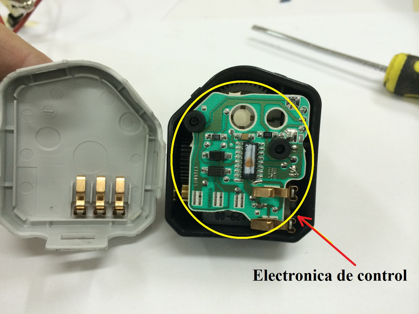 Electronica de control