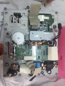 Detalle 2 electronica interior calculador gestion alta tensión