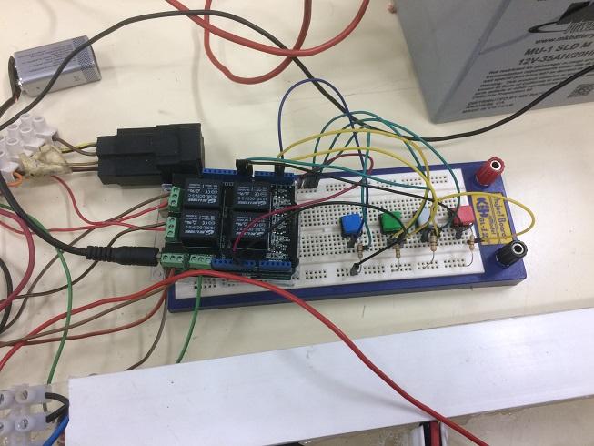Arduino luces de posición cruce carretera y ráfagas