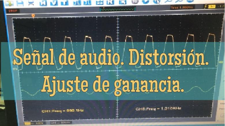 """""""Distorsión del sonido"""""""