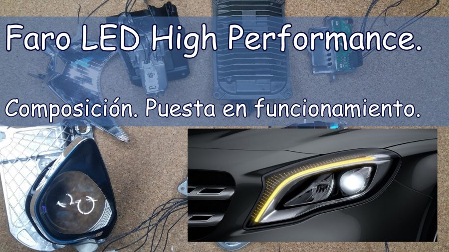 LED High Performance Faro led Mercedes benz high performance Piloto trasero led