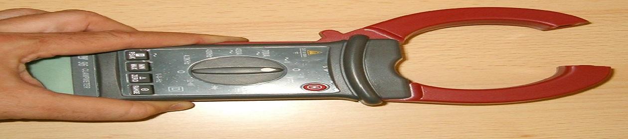 Pinza amperimétrica automoción
