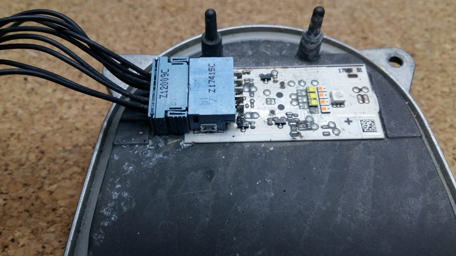 LED High Performance Detalle luces de señalización Faro led Mercedes benz high performance