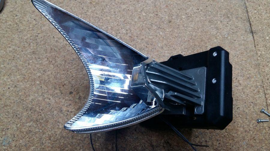 Reflecto faros led Mercedes benz high performance luz carretera