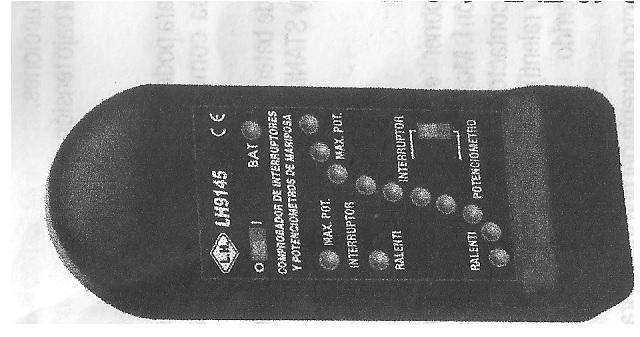 comprobador de potenciómetros de acelerador