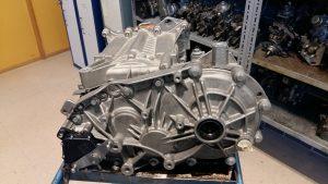 Detalle de la reductora Motor eléctrico ZOE. Averías.